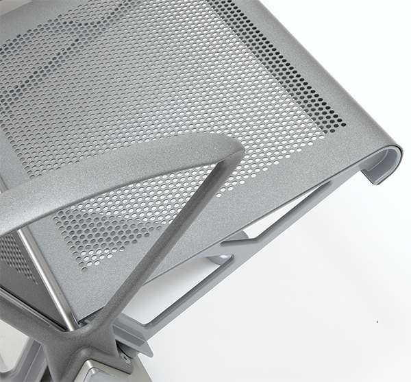 perforated aluminium trax